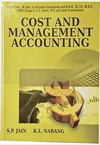 Cost Accounting Book By Jain And Narang Pdf 400