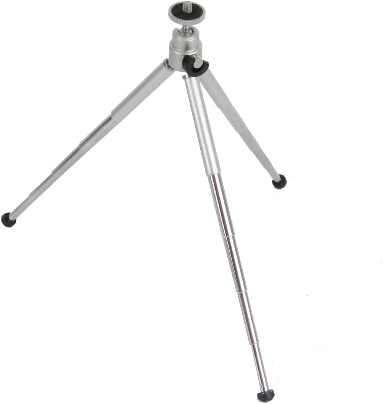 Smartphone//iPhone Mount 5 Sections 9 Portable Mini Travel Table-Top Photo Tripod Foldable with Ball Head GroPro Adapter