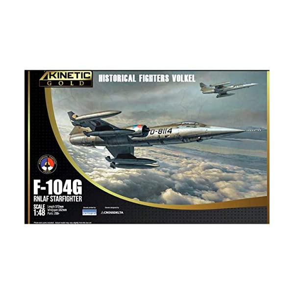 Kinetic Model Kits 1/48 F-104G RNLAF Starfighter Historical Fighters Volkel K48090 1