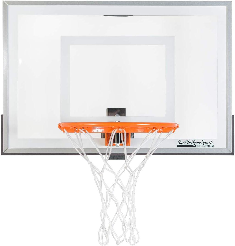 JustIn TymeSports Mini Basketball Hoop