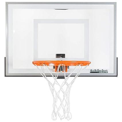 10e1ad5c285 Amazon.com   JustInTymeSports Wall Mounted Mini Basketball Hoop - Mini Pro  2.0   Wall Mount Basketball Backboards   Sports   Outdoors