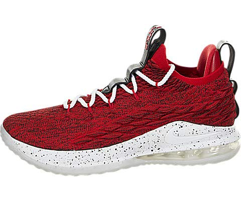 Nike Lebron XV Low University Red/White-Black 12 M US by Nike (Image #5)