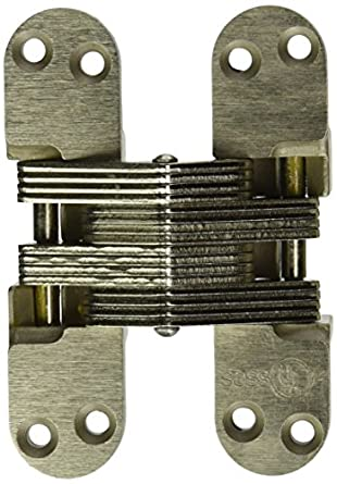 """Fire Rated Hinge for 1.75/"""" Doors SOSS 418SS Stainless Steel 20//90//180 Min"""