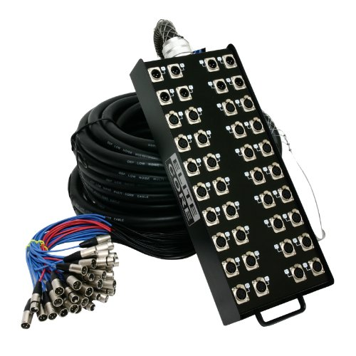 Elite Core | PS328150 | 32 x 8 Channel 150' ft Stage Snake by Elite Core