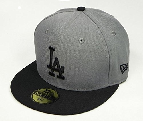 Basic Gray 59fifty Fitted Cap - 5