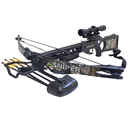 (Southland Archery Supply SAS Sniper 150lbs Next G1 Camo Crossbow Package)