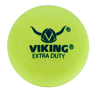 Viking Extra Duty Yellow Paddle Ball (Sleeve of 3)