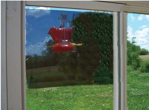 - New Songbird Essentials Two-Way Window Mirror 20X12 Film Clings To Window With Removable Glue Spots