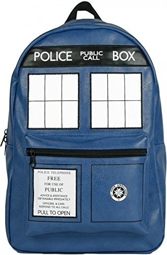 Doctor Who Tardis Faux Leather Backpack ()