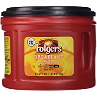 Folgers Breakfast Blend Ground Coffee Mild Roast