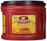 Folgers Breakfast Blend Ground Coffee, 25.4 oz