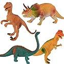 子供のための教育用プラスチック盛り合わせの恐竜のおもちゃフィギュア - 4パック、#22