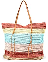 Multicolor tote bag - H & M