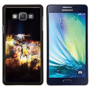 Qstar Arte & diseño plástico duro Fundas Cover Cubre Hard Case Cover para Samsung Galaxy A7 A7000 (Bryant 24 Basket)