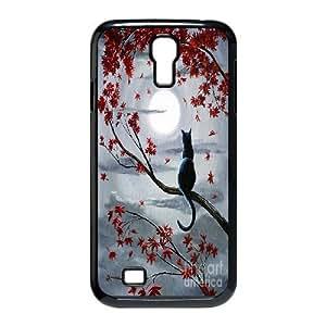 Cat Design Pattern Hard Skin Back Case Cover Potector For Samsung Galaxy S4 Case HSL378492