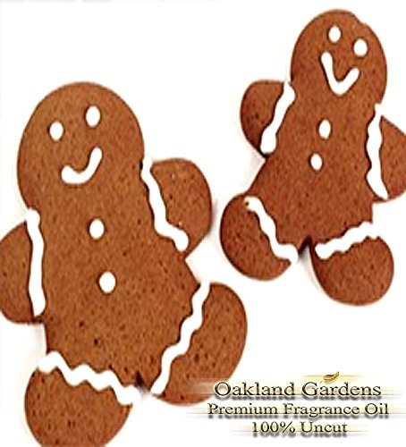 GINGERBREAD Fragrance Oil - Warm gingerbread right from the oven - By Oakland Gardens