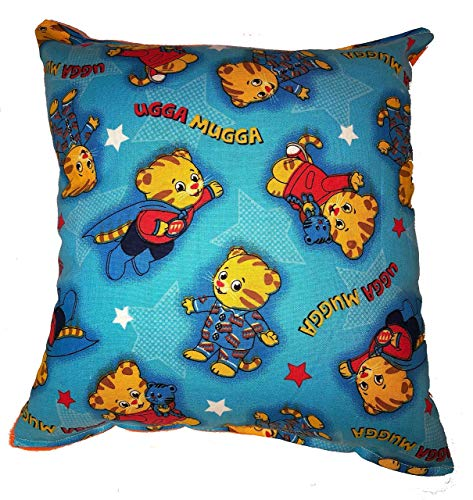 (Daniel Tiger Pillow Daniel Tiger's Neighborhood Pillow HANDMADE In USA,Travel, Daycare, NEW Pillow is approximately 10