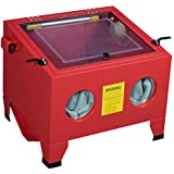 25 Gallon Bench Top Sandblast Cabinet Air Sand Blaster Sand Blast