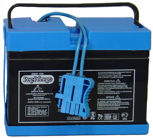 Peg Perego Battery 12 Volt (Drop Ship Pack) (Drop Ship Gifts)