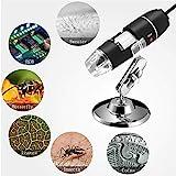 Jiusion 40 to 1000x Magnification Endoscope, 8 LED