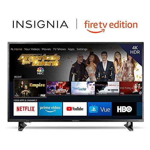 Insignia NS-43DF710NA19 43-inch 4K Ultra HD Smart LED TV HDR - Fire TV Edition (Soundbar Hd Tv)