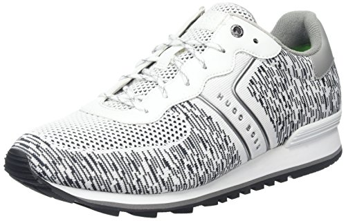 Baas Athleisure Mannen Parkour_runn_knit Sneaker Wit (wit)