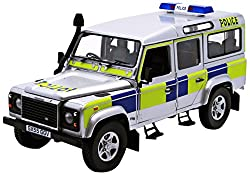 Universal Hobbies 1:18 Scale Land Rover Defender 110 TD5 Police Battenberg from UNIVERSAL HOBBIES