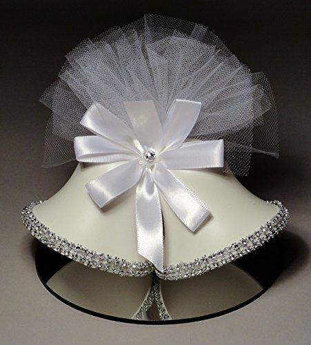 Rhinestone-Satin-Bells-Wedding-Cake-Topper-953