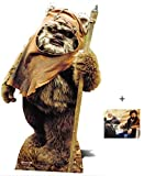 Fan Pack - Wicket The Ewok Star Wars Lifesize Cardboard Cutout/Standee/Standup- Includes 8x10 Star Photo