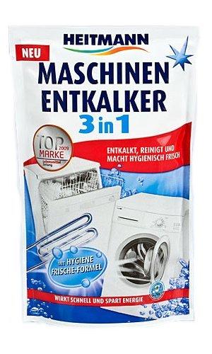Heitmann Maschinen-Entkalker 3in1, 175g, 1er Pack (1 x 175 g)