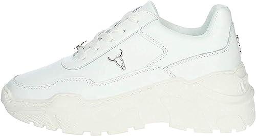 WINDSOR SMITH Zapatos de Mujer Zapatillas con Plataforma Tarjetas ...