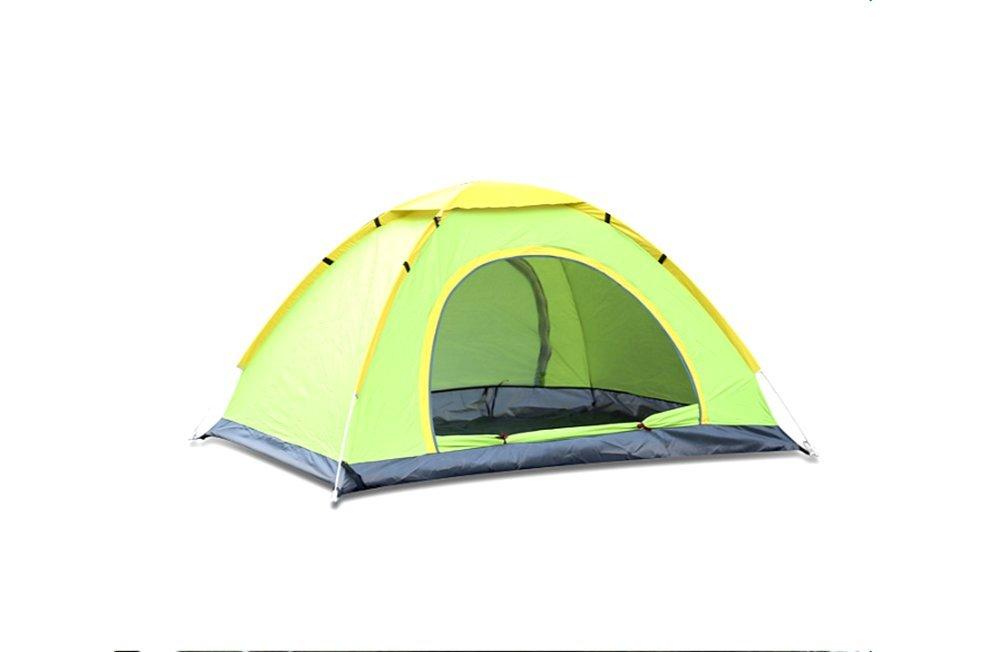 Zelt Automatische Doppel Zelt Camping Camping Doppeltür Zelt Outdoor Wandern Zelt (200 Cm  200 Cm  130 Cm)