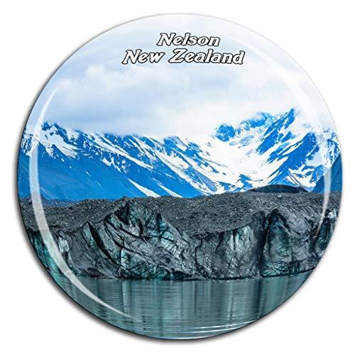 (Abel Tasman National Park Nelson New Zealand Fridge Magnet 3D Crystal Glass Tourist City Travel Souvenir Collection Gift Strong Refrigerator Sticker)