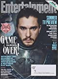 entertainment weekly june 2 9 2017 cover 1 kit harington games of thrones game almost over