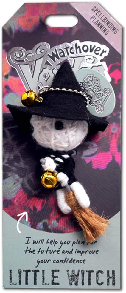 Multicolor Small Watchover Voodoo 108010036 Little Witch Doll