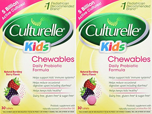 Culturelle Chewables Probiotic 50 100lbs Tablets product image