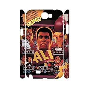 diy 3D Case Cover for Samsung Galaxy Note2 N7100 - Muhammad Ali case 3