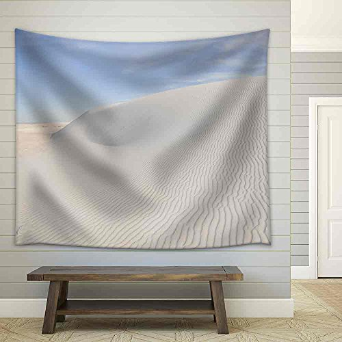 Wall26   White Sands National Monument  New Mexico   Fabric Wall Tapestry Home Decor   51X60 Inches