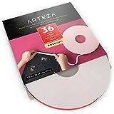 Arteza White Foam Mounting Tape, ½ Inch by 36