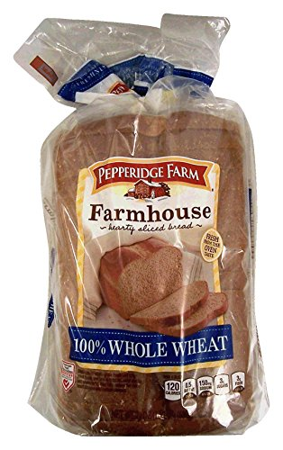 (Pepperidge Farm Farmhouse 100% Whole Wheat 24 oz (Pack of 2))