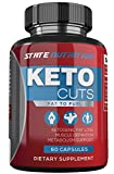 Keto Cuts - Burn Fat Instead of Carbs Ketogenic Weight Loss Formula for Fat Burn - Ketogenic Fat Burner and Nootropic Supplement - Supports Mental Focus - 60 Ct.