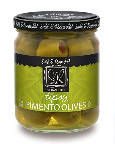 - Sable and Rosenfeld Tipsy Olives 10.6 Ounce, 10.6 Ounce (Pack of 6)