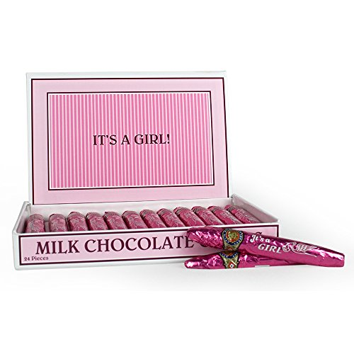 Madelaine Milk Chocolate Cigars It's a Girl - Multipack (2 Boxes/48 Cigars)