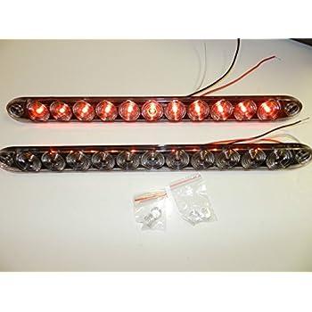 amazon com pair tecniq 15 clear red multi function stop turn tail rh amazon com TecNiq S21 TecNiq LED