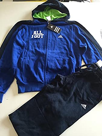 new style 804c5 2f761 Adidas Collegiate Royal Navy Onesie Size 16 A