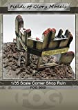 1/35 Scale - WW2 Ruined Shop Front Diorama - Military model kit …
