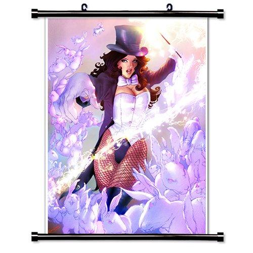Zatanna Super Hero Wall Scroll Poster (16x22) Inches (Zatanna Superhero)