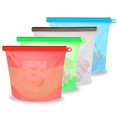 Bolsas de almacenamiento de alimentos reutilizables - 1 ...