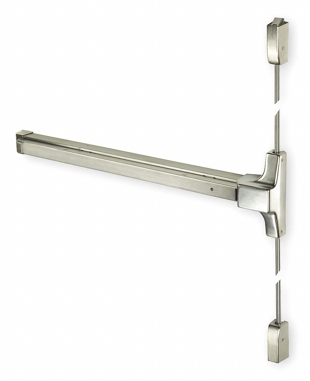 Exit Device Stainless Steel Surface Vertical Rod Series 2100