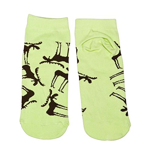 LazyOne Unisexe Funky Moose Adulte Slipper Pantoufles Chaussettes 37-41